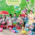 所有小朋友都有一個專屬自己的水晶氣球,又可以作場地佈置之用